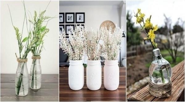 10 أفكار رومانسية لعرض الأزهار في منزلك