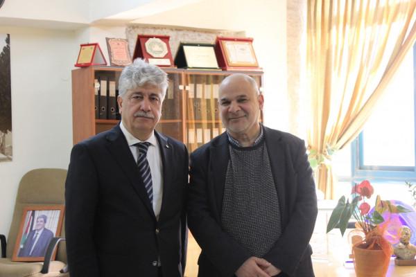 مجدلاني يؤكد اهمية المؤسسات الفلسطينية في البلدة القديمة بالعاصمة القدس وتعزيز صمودها