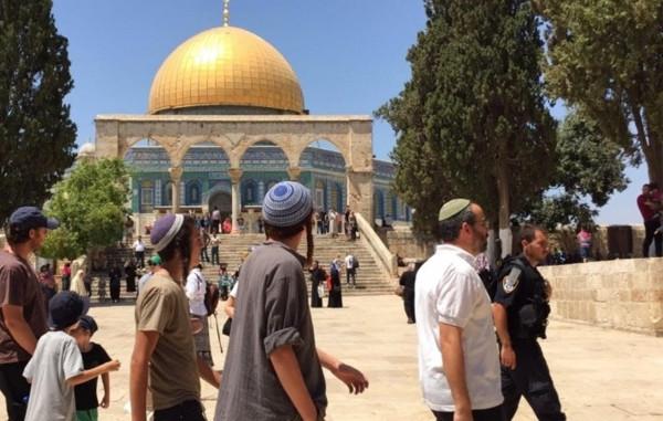 أكثر من 400 مستوطن يقتحمون المسجد الأقصى اليوم