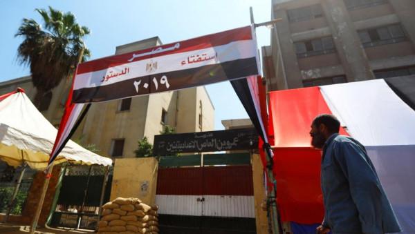 شاهد: إغلاق صناديق الاقتراع وبدء فرز الأصوات باستفتاء تعديلات الدستور المصري