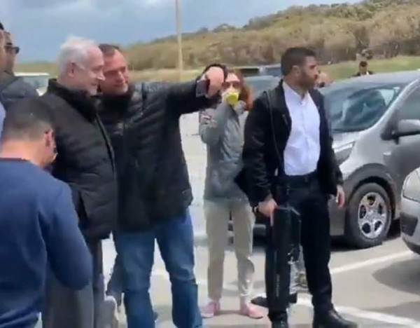 شاهد: نتنياهو وعائلته يزورون الجولان السوري المحتل