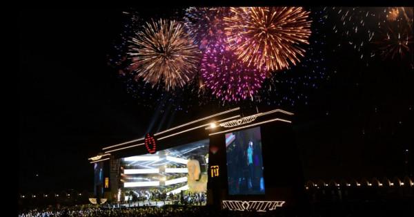 أحمد عصام يشعل حفل تامر حسني في الرياض