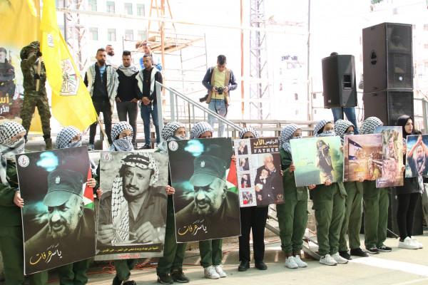 انطلاق فعاليات الدعاية الانتخابية في جامعة بوليتكنك فلسطين