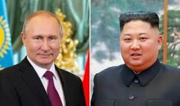 الكرملين: الزعيم كيم يلتقي الرئيس الروسي في 25 أبريل