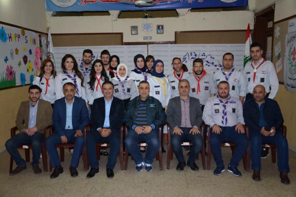 قيادة حركة أمل تزور جمعية كشافة الجراح في صور