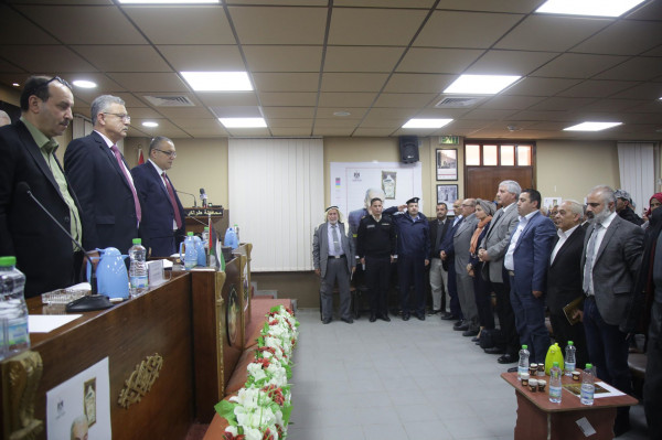 طولكرم، تنظيم تأبين لعميد الأدباء والنقاد الفلسطينيين صبحي شحروري