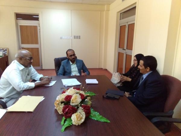 وزير الثروة السمكية يلتقي نائب مدير منظمة كير لدعم البرامج