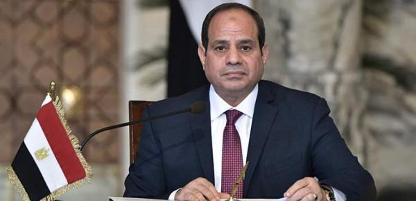 السيسي يوجه رسالة للمصريين حول نتائج استفتاء الدستور