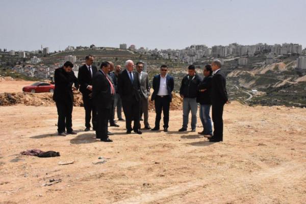 المالكي: مشروع المعهد الدبلوماسي يدخل حيز التنفيذ في رام الله