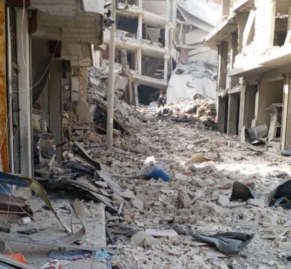 قتلى وجرحى بانفجار مفخخة في جسر الشغور بسوريا