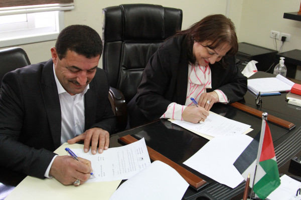 وزيرة الصحة توقع اتفاقية لتوسعة مستشفى رفيديا بنابلس