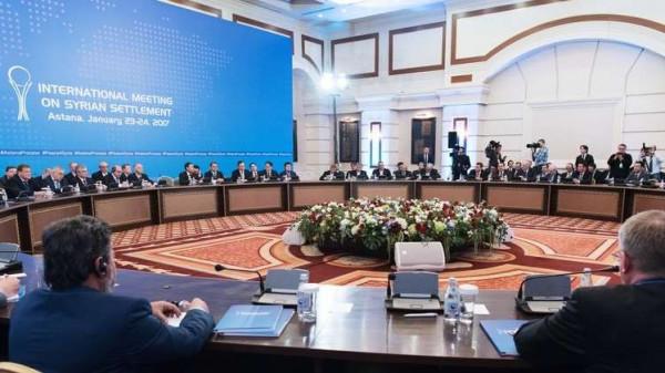 انطلاق الجولة الثانية عشرة من مفاوضات أستانا حول سوريا