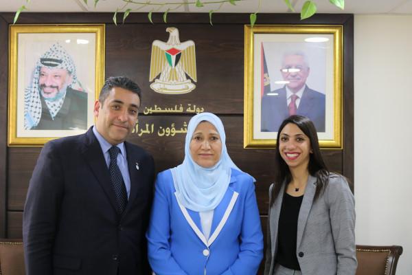 وزيرة شؤون المرأة تبحث آليات التعاون مع وزارة الخارجية
