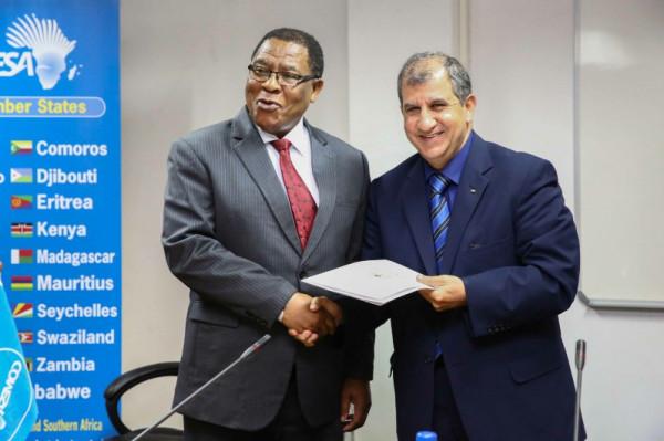 زامبيا: سفير دولة فلسطين يبحث مع وكيل الخارجية أخر التطورات