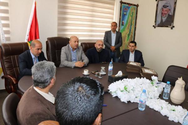 أبو هولي: خطة إعلامية موحدة لمواجهة المؤامرات التي تستهدف قضية اللاجئين