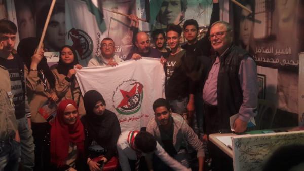 """""""اشد"""" ينظم وقفة تضامنية مع الأسرى الفلسطينيين في طرابلس"""