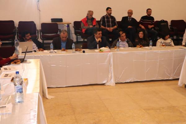 بلدية بيت لحم تنظم لقاءً بما يخص اعتبار المدينة عاصمة الثقافة العربية