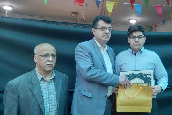 الثانوية الإسلامية تحصل على المرتبة الأولى في مسابقة اولمبياد رسم الكاريكاتير