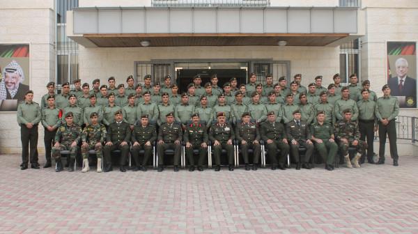 هيئة التدريب العسكري تخرج الفوج الثالث لأكاديمية الضباط الفلسطينية