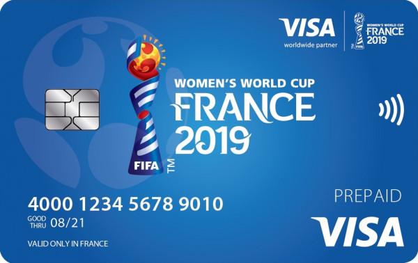 فيزا تدعم النساء في بطولة كأس العالم لكرة القدم للسيدات فرنسا 2019