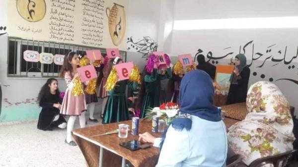 """مدرسة بنات جيوس الثانوية تنفذ فعالية تربوية ضمن مبادرة """"تكاملنا يجمعنا"""""""