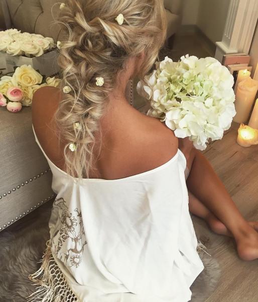 تنعيم الشعر قبل الزفاف بطرق غير مؤذية