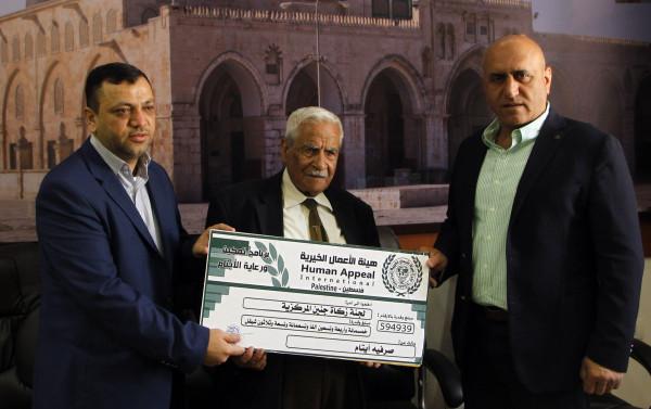 هيئة الأعمال الخيرية تسلم كفالات بمئات آلاف الشواكل لصالح 1200 يتيما بجنين