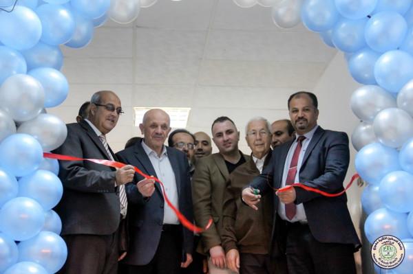 خضوري فرع العروب تفتتح معرضها الأول بالشراكة مع جامعة الشرق الأوسط بقبرص