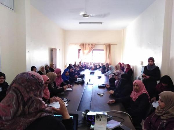 المعهد الفلسطيني للاتصال والتنمية ومركز شئون المرأة- غزة يعرضان فيلم 678 برفح
