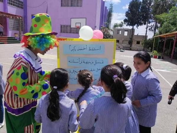 تربية قلقيلية تختتم أنشطة الاشراف التطويري في بلدة جينصافوط بفعالية لتعزيز القراءة