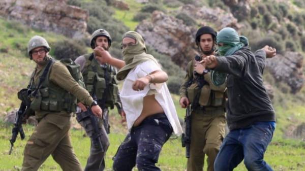 الاحتلال يعتقل شابا من عوريف جنوب نابلس