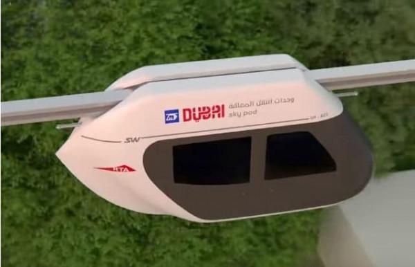 """دبي تبهر السياح بالنقل المعلق """"تلفريك""""فائق السرعة"""