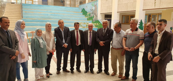 وزير الثقافة أبو سيف يفتتح معرضاً حول النكبة في محافظة طوباس
