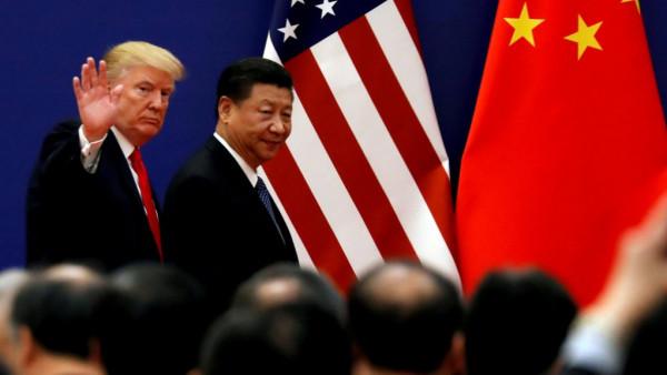"""ترامب: نُطمئن العالم الحرب التجارية مع الصين مجرد """"شجار صغير"""""""