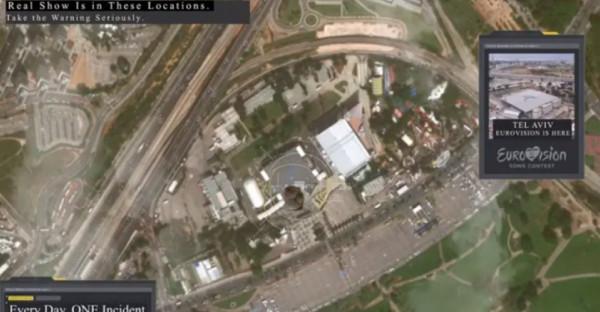 اختراق بث (يورو فيجين) بمشاهد لاستهدافها بالصواريخ