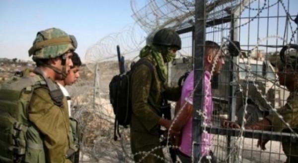 اعتقال فلسطيني بزعم عبوره السياج من شمال القطاع نحو مناطق غلاف غزة
