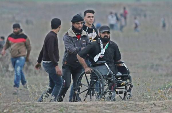 """إسرائيل تُغلق التحقيقات باستشهاد المُقعد """"أبو ثريا"""" على حدود غزة"""