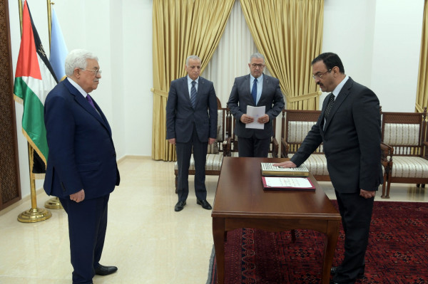 أحمد براك يُؤدي اليمين القانونية رئيساً لهيئة مكافحة الفساد