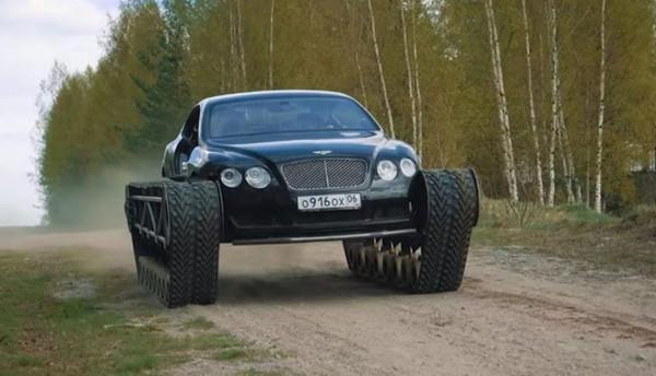 سيارة بنتلي تتحول إلى دبابة فاخرة