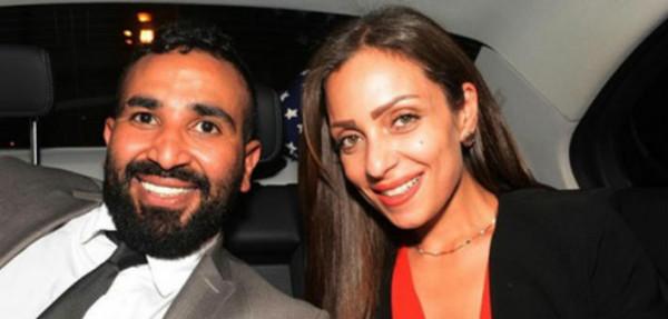 تصرف غريب لريم البارودي أمام الكاميرا فور سماعها اسم أحمد سعد