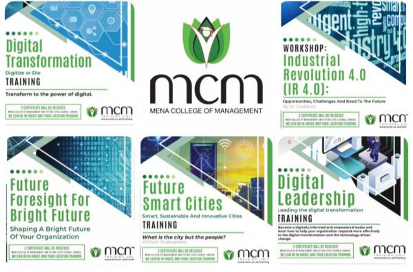 كلية مينا للادارة تطرح حزمة دورات رقمية