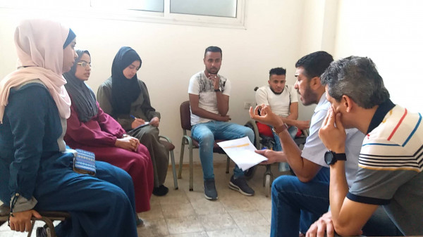 """لجنة تنفيذ مخرجات المخيم الشتوي """"غزة اقوي بإرادتها"""" تبدأ تقييم المبادرات المقدمة"""