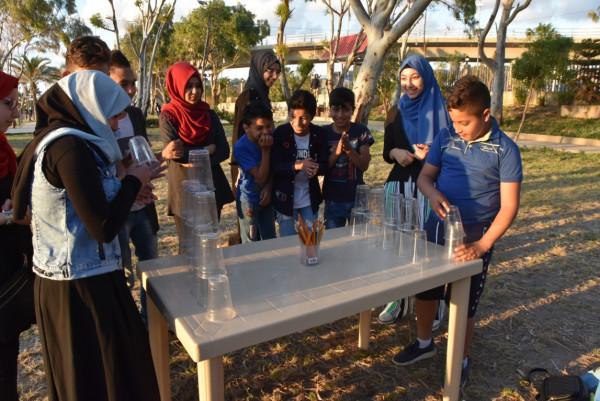 الرعاية تجمع أسر أبنائها المكفولين حول موائد الإفطار في منتزه صيدا البلدي