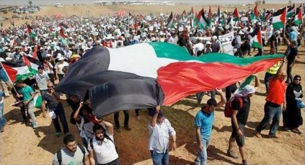 عشرات الآلاف من الفلسطينيين شاركوا في احياء ذكرى النكبة