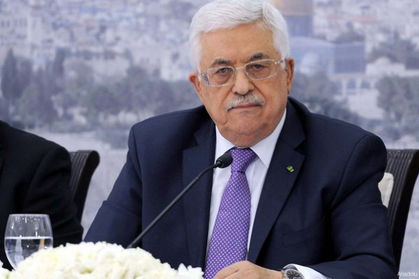 الرئيس عباس يوجه رسالة لرئيسة وزراء بريطانيا