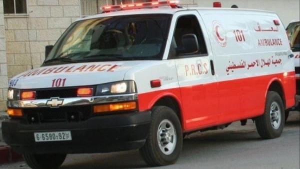 إصابة عشرة مواطنين بحادث سير غرب سلفيت