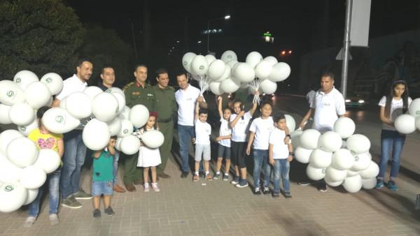 منظمة تطوع تنظم فعالية ترفيهية للأطفال في نابلس