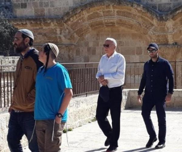 وزير الزراعة الإسرائيلي يقود اقتحامات الأقصى