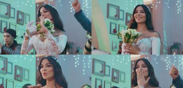 استوحي فستان زفافك من فساتين زفاف نادين نسيب نجيم في مسلسلات رمضان