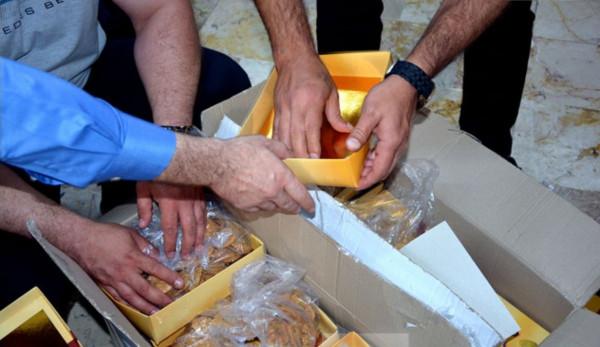 الحشيش يُهرب في علب الحلويات بسوريا